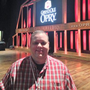 Backstage at the Grand Ole Opry